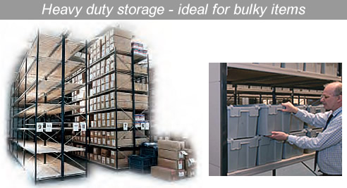 Heavy duty storage ideal for bulky items