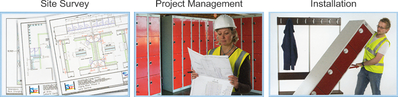 Storage Bitz offers site surveys, project management and installation