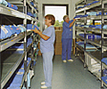 Longspan shelving: Hospital Theatre Storage