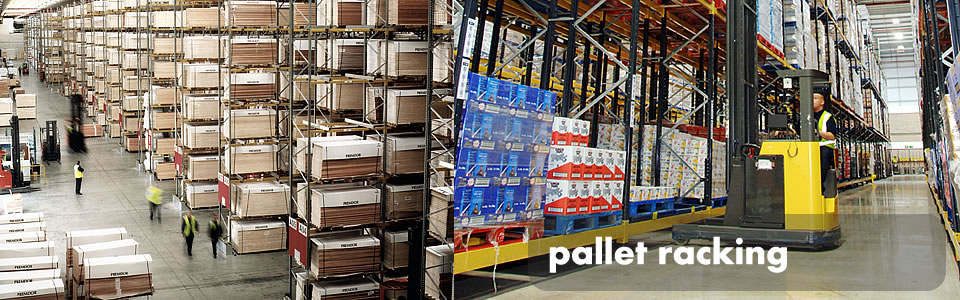 Pallet racking from Storage Bitz