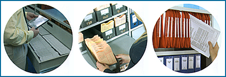 Document storage examples: CD/DVD, medical files, lateral files