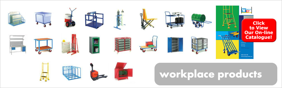 Workplace producrs from Storage Bitz - click to view our on-line workplace products catalogue